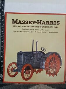 Massey Harris Metal Sign
