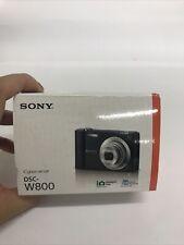 Sony Cyber-shot DSC-W800 20.1MP Digital Camera 5x Optical Zoom NEW| OPEN BOX.