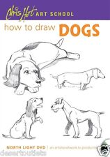 NEW! Chris Hart Art School: How to Draw Dogs [DVD]