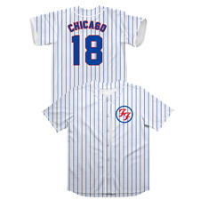 Foo Fighters Chicago Cubs Baseball Jersey Xl - Xlarge - Wrigley Field - Chicago