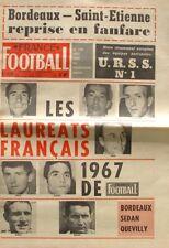 France Football n°1138-1968-BOSQUIER-DJORKAEFF-HON-BAEZA-RIBUL-BODIN-RAVANELLO