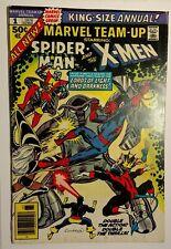 Marvel Team-Up Annual 1 / 1976 FN- 5.5 / Spider-Man, X-Men, Phoenix, Wolverine