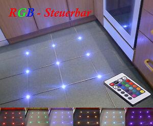 Controllable Tiles RGB LED Joint Light Lighting Fugenlicht Fliesenlicht Cross