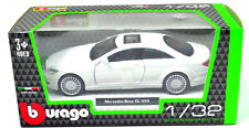 Mercedes-Benz CL 550 White Scale 1:3 2 from bburago