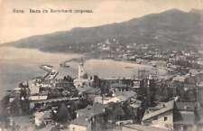 Yalta Russia Crimea Birds Eye View Waterfront Antique Postcard J69625