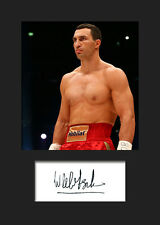 WLADIMIR KLITSCHKO - Signed Photo A5 Mounted Print - FREE DELIVERY