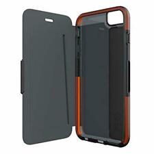 Apple Iphone 6 + 6s plus 5.5 tech21 book wallet cover D30 case Black T21 4294