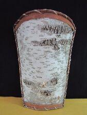 Ojibwe Birch Bark Wall Basket