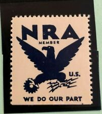 Nra National Recovery Act, Cinderella, Label Stamp Og Mnh