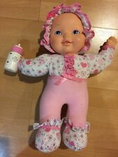 Talking Baby Doll, Needs Batteries, Pink