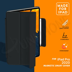 "【Magnetic】iPad Pro Air 4 10.9"" 11"" 12.9"" inch 2020 Slim Smart Cover Leather Case"
