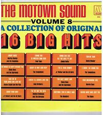 LP (NEW)16 BIG HITS MOTOWN SOUND VOL.8 D.ROSS & THE SUPREMES  FOUR TOP SM.GAYE
