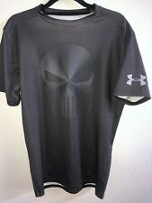 Under Armour® Alter Ego Punisher Carbon Fiber Gray Compression Shirt XL NEW