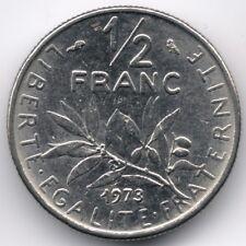 France : 1/2 Franc 1973
