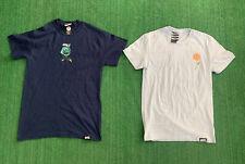 Lot Of 2 Broken Promises Shirt Size XS-S Gult Roses Blue