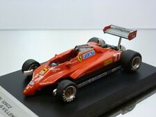 MMK FERRARI 126C2 - GP ITALIA 1982 - VILLENEUVE #27 - F1 RED 1:43 - GOOD on BASE