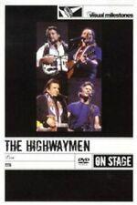 THE HIGHWAYMEN Live Visual Milestones DVD NEW PAL R0 Johnny Cash Willie Nelson