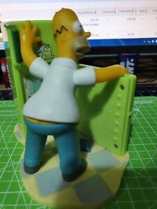 The Simpsons WESCO Fridge Clock - Homer 2002 - RARE