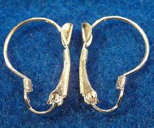 100Pc. WHOLESALE Silver-Plated Kidney Shape LEVERBACK Earring Hook Tibetan Q0696