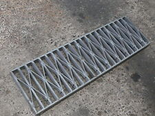 Trench Stormwater Drain Grate Galvanised Gal -Extra HD 10mmFW 230x40 -per lin-m
