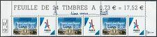 Timbre JO Paris 2024 surcharge 13/09/2017 Lima haut de feuille illustré