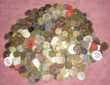 Lot of 7lb. & 13oz. Amusement, Car Wash, Arcade and Other Tokens - #2