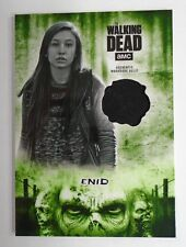 TOPPS THE WALKING DEAD HUNTERS & HUNTED ENID GREEN AUTHENTIC COSTUME RELIC /25
