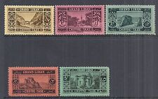 1925 Lebanon/Liban SC# J11-J15 Postage Due, Outdoor Scenes - MNH Scarce*
