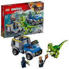 Lego Juniors Jurassic World 10757. Camión de rescate del Raptor . De 4 a 7 años