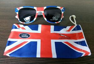 Sonnenbrille für Damen und Herren von Jaguar/Land Rover mit Union Jack  Neu