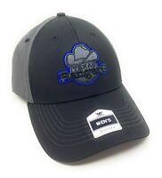Texas Rangers Cooperstown Retro Logo Adjustable Baseball Cap/Hat -Black Blue