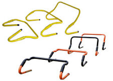 "Adjustable speed hurdles 6"" to 12"" set of 6"
