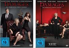 6 DVDs * DAMAGES - IM NETZ DER MACHT - SEASON / STAFFEL  4 + 5  # NEU OVP <