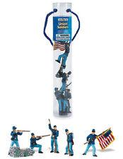 CIVIL WAR SOLDIER SET#1  by Safari Ltd; toy/soldiers/confederate/union