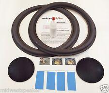 """Altec Model 8,9,14 & 15 - 12"""" Woofer Speaker Refoam Kit w/ Shims & Dust Caps!"""