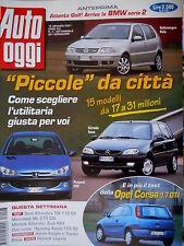 Auto Oggi 3 2001 Anteprima: attenta Golf, arriva la BMW serie2. Opel Corsa [Q74]