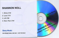 SHANNON NOLL What Matters The Most 4tk promo sampler CD