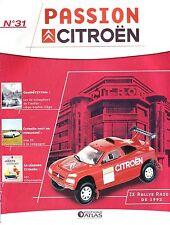 CAHIER AUTOMOBILE Passion Citroën ZX Rallye Raid de 1992 10 pages