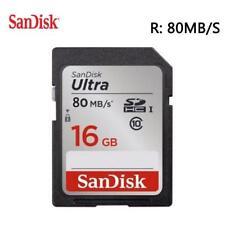 SanDisk Ultra 16 GB 80 MB/S SDHC UHS-I Card - SDSDUNC016G
