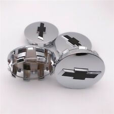 4PCS Chrome For Chevry Suburban Wheel Center Hub cap Silverado 1500 3.25'' 14-19
