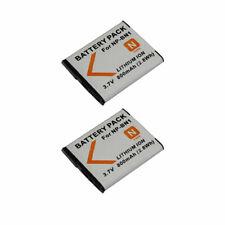 TWo(2)  Rechargeable NP-BN1 Battery For Sony DSC-W800 DSC-W510 DSC-W690 DSC-QX10
