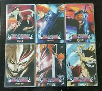 Bleach Anime Part 6-8-9-10-11-12 DVD Lot of 6