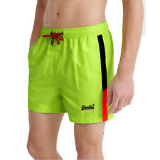 Superdry Herren Beach Volley Swim Short Schwimmhose Shorts M3010007A grün