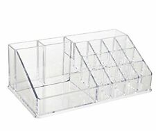 ACRYLIC COSMETIC ORGANISER PEN MAKEUP NAIL POLISH HOLDER DRAWERS STORAGE BOX