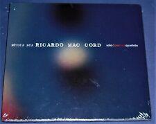 music cd MUSICA NUA by RICARDO MAC CORD mint sealed unopened BRAZILIAN mpb piano