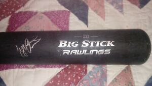 Tyler Austin Signed Autograph Rawlings Bat Yankees,Twins,Giants,Brewers