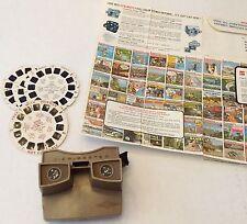 Vintage Viewmaster Lot Popeye Reels Catalog