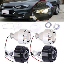 2.5'' HID Low High Beams Bi-xenon Projector Halo Lens Kit with Headlight Shroud