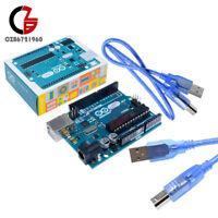 Genuine Original Arduino Uno R3 Official ATmega328 MEGA328P Board 16 MHz Cable