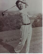 Byron Nelson #1  8x10 Signed Photo w/ COA  Golf -